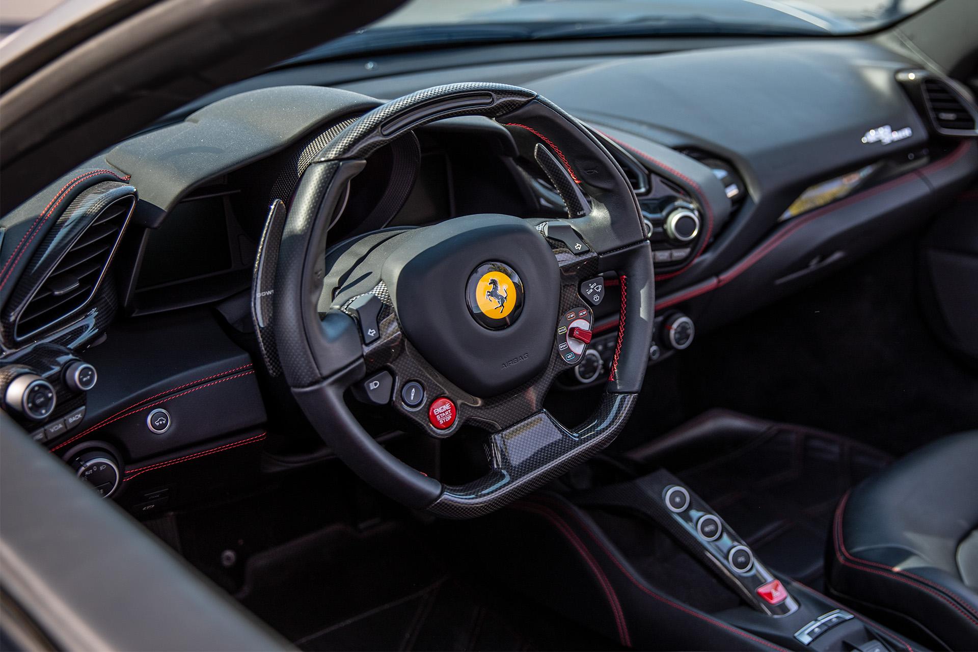Ferrari 488 Interior Goldstein
