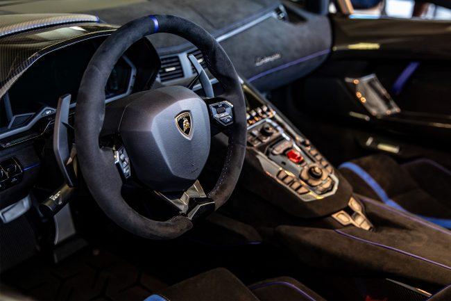 Aventador Interior