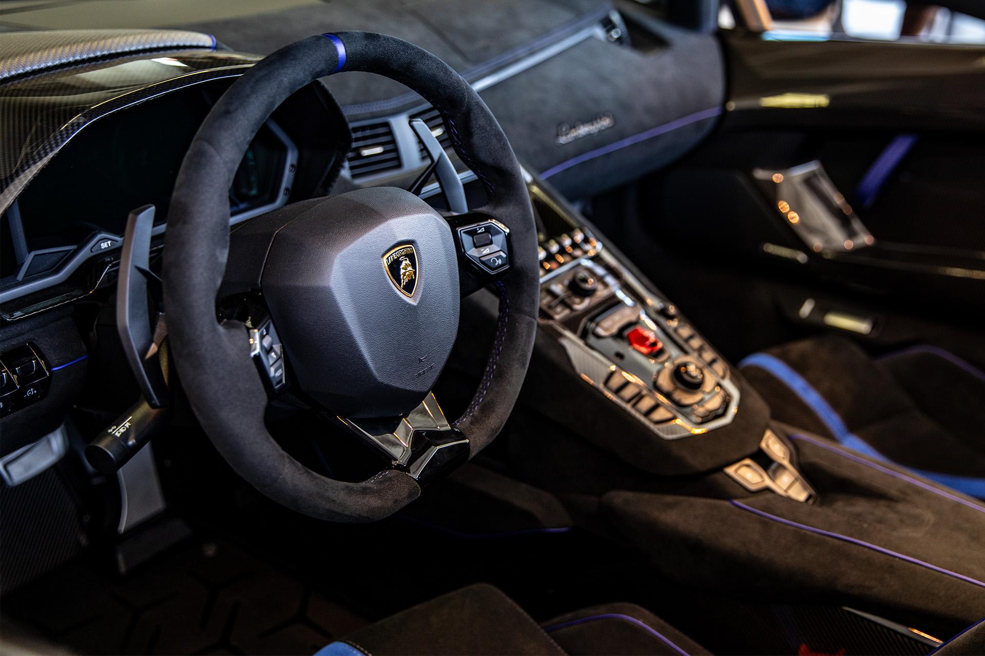 Lamborghini Aventador Interior Goldstein Digital Photographer In