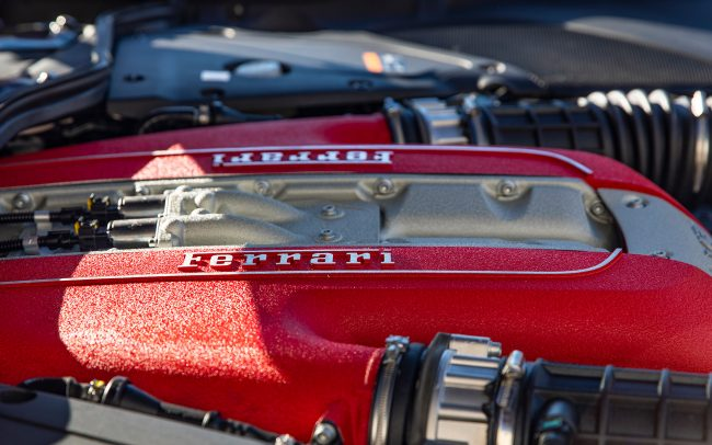 Photo of Ferrari 812 Engine