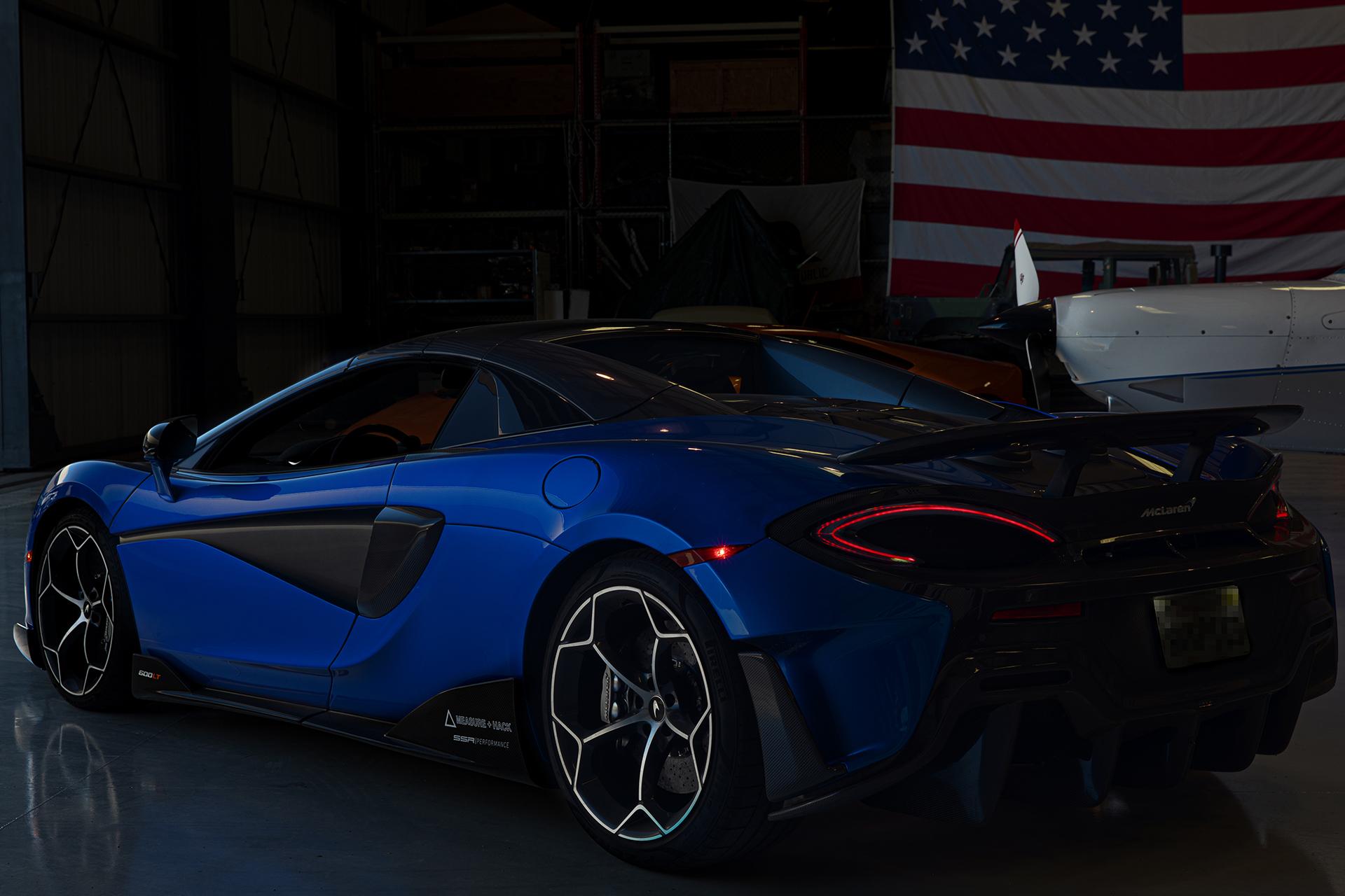 Photo of a McLaren 600LT Spider