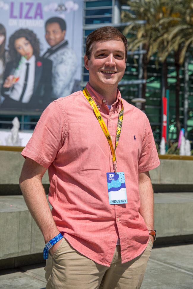 Preston McNair at VidCon